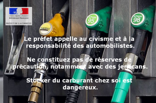 Carburants : point de situation et appel au civisme (4 juin)