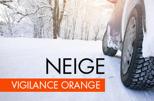 Vigilance Orange Neige Verglas